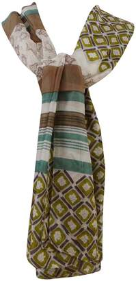 "aboutyou Leopard Printed Pure Silk Scarf Wrap Long Scarfs Women Bandana 70"" x 20"" Inches"