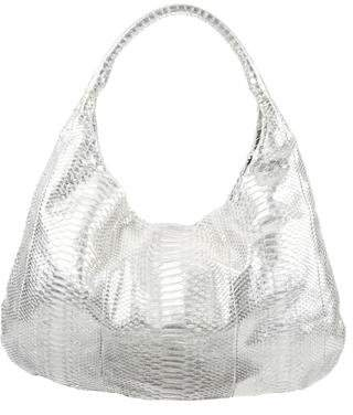 Devi Kroell Snakeskin Shoulder Bag