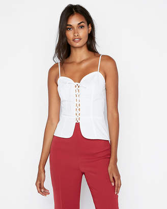 Express Lace-Up Corset Cami