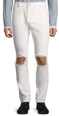 Saint Laurent Skinny Distressed Jeans