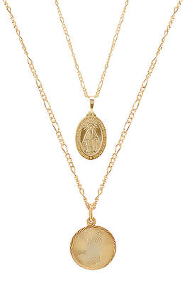EIGHT by GJENMI JEWELRY x REVOLVE Prayer Miracle Necklace Set