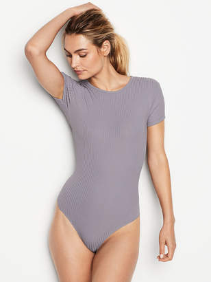 Victoria's Secret Victorias Secret Ribbed Bodysuit