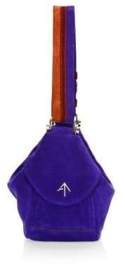 Atelier Manu Micro Fernweh Suede Shoulder Bag