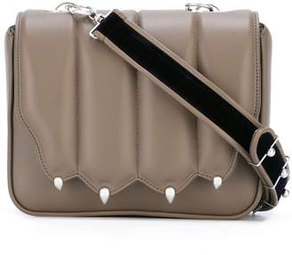 Marco De Vincenzo strap studded crossbody bag
