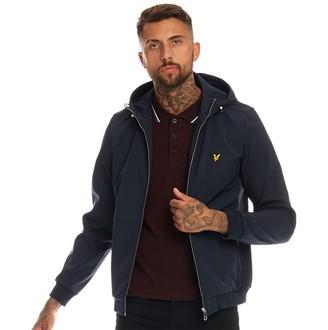 Vintage Mens Soft Shell Jacket Dark Navy