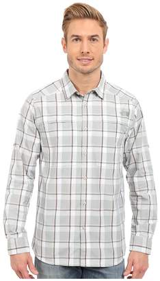 The North Face Long Sleeve Traverse Plaid Shirt Men's Long Sleeve Button Up