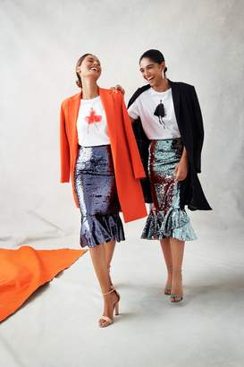 Sachin + Babi Sachin Babi Pre-Order: Talullah Skirt - Sage Green