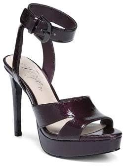 Fergie Righteous Leather Platform Sandals