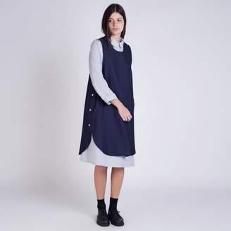 Kate Sheridan Denim Pop Tabard Dress - Blue