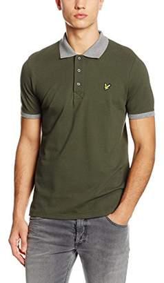 7d32c3e6 at Amazon.co.uk · Lyle & Scott Men's Contrast Rib Polo Shirt