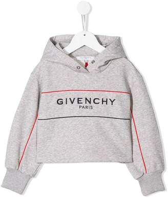 Givenchy Kids cropped hoodie