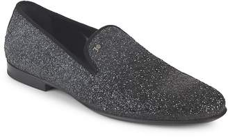 Galliano Men's Glitter Smoking Slippers