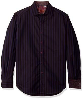 Robert Graham Men's Fort Crown Long Sleeve Classic FIT Woven Shirt