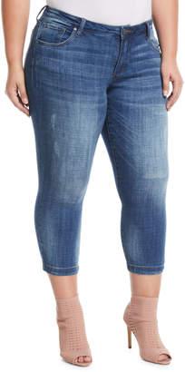 Ralph Lauren Swat Fame Cropped Straight-Leg Jeans, Plus Size