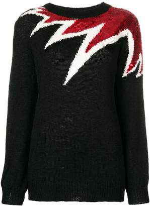 Aniye By oversized sequinned detail sweater