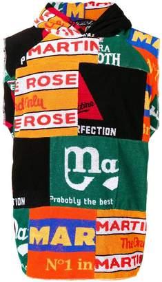 Martine Rose sleeveless printed hoodie