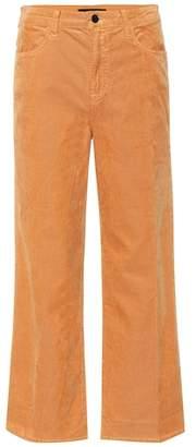 J Brand Joan corduroy wide-leg crop jeans