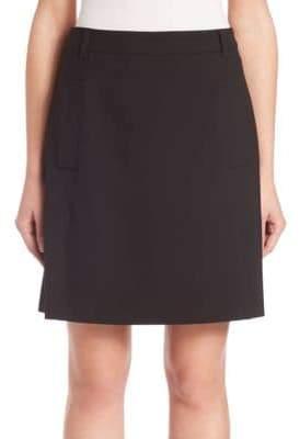SET Solid Mini Skirt
