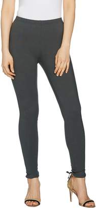 Women With Control Women with Control Regular Pull-On Lace-Up Back Knit Leggings