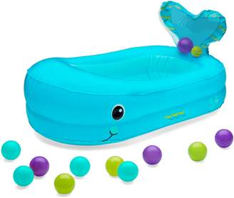Infantino Whale Bubble Inflatable Bath Tub
