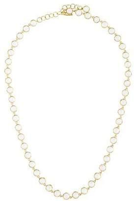 Irene Neuwirth 18K Moonstone Circular-Link Necklace
