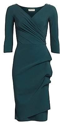 Chiara Boni Women's Florien Ruched Sheath Dress