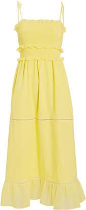 Kisuii Luna Smocked Sleeveless Dress
