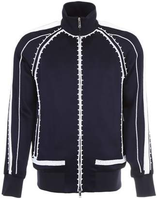 Valentino Satin Jacket With Embroideries