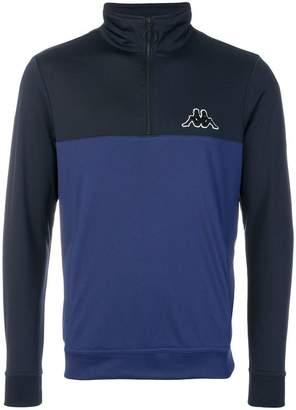 Kappa zip neck sweatshirt