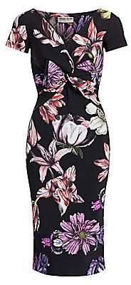 Chiara Boni Women's Illye Floral Print Sheath Dress