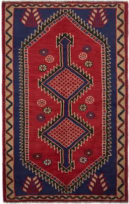 Unique Loom Shiraz Hand-Knotted Wool Persian Rug