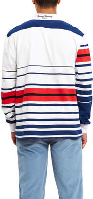 Opening Ceremony Multi All Striped Rugby Top