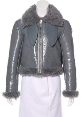 Balenciaga 2017 Shearling Jacket