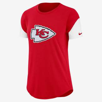 Nike Team Fan (NFL Chiefs) Women's Tri-Blend T-Shirt