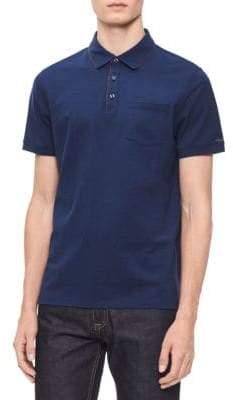 Calvin Klein Classic Short-Sleeve Cotton Polo