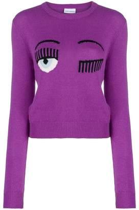 Chiara Ferragni Eye logo jumper