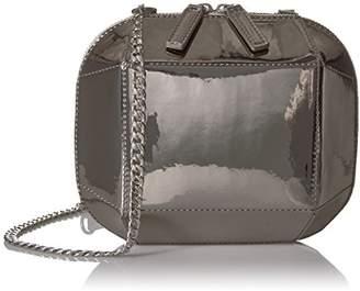 Amazon Brand - The Fix Tiffni Geometric Hard Shell Chain Strap Crossbody Bag