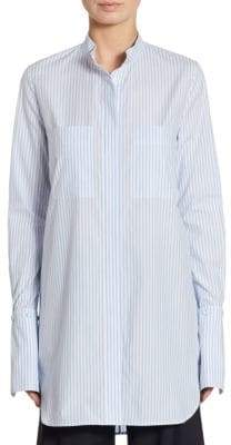 ADAM by Adam Lippes Striped Cotton Blouse