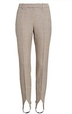 93bc40832a6c3 Givenchy Women's Micro Check Stirrup Pants