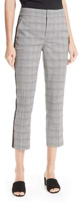 Joie Kenadia Plaid Crop Pants