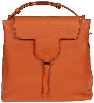Tod's Square Flap Tote