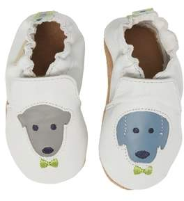 Robeez R) Dog Buddies Moccasin Crib Shoe