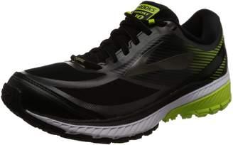 Brooks Men's Ghost 10 GTX Running Shoe (BRK-110256 1D 38850D0 12 078 BLACK/EBONY/LIME)