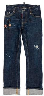 DSQUARED2 2017 Mid-Rise Jeans w/ Tags