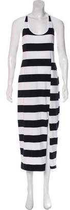 DKNY Striped Sleeveless Maxi Dress w/ Tags