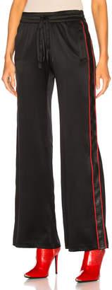 Amiri Silk Leather Track Pant