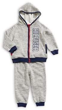 Tommy Hilfiger Baby Boy's Two-Piece Fleece Jacket Pants Set