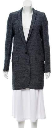 Stella McCartney Long Tweed Coat