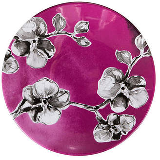 MADHOUSE by Michael Aram Orchid Melamine Lunch Plate - Purple