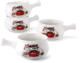 Campbell's Set of 4 pcs , 18oz soup mug with one handle WMT-L149